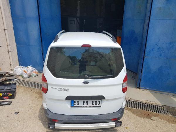 Bara Protectie Spate Aluminiu Volkswagen T5 2003> 3