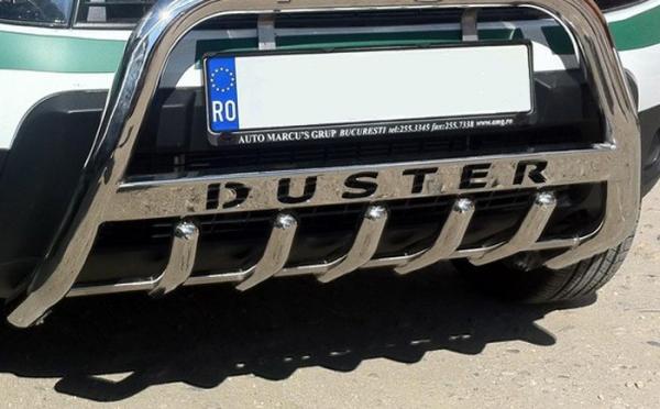 BullBar inox Dacia Duster 2018- 0