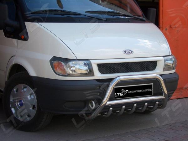 BullBar inox Ford Transit 2000-2006 0