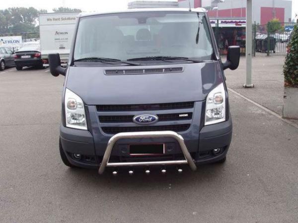 BullBar inox Ford Transit 2006-2015 0