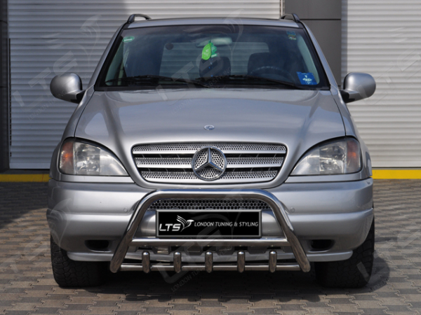 BullBar inox Mercedes ML 2006-2011 0