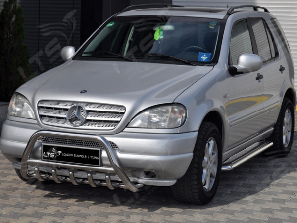 BullBar inox Mercedes ML 2006-2011 1