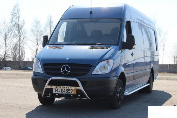 BullBar inox Mercedes Vito 2009-2015 4