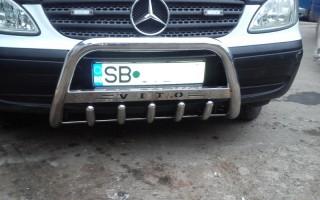 Bullbar inox Mercedes Vito 1996 - 2009 2