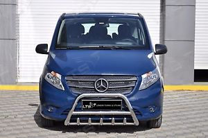 BullBar inox Mercedes Vito 2015- 0