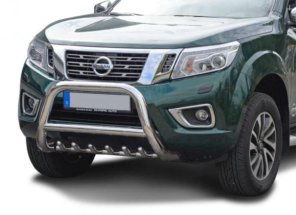 BullBar inox Nissan Navara 2006-2015 0