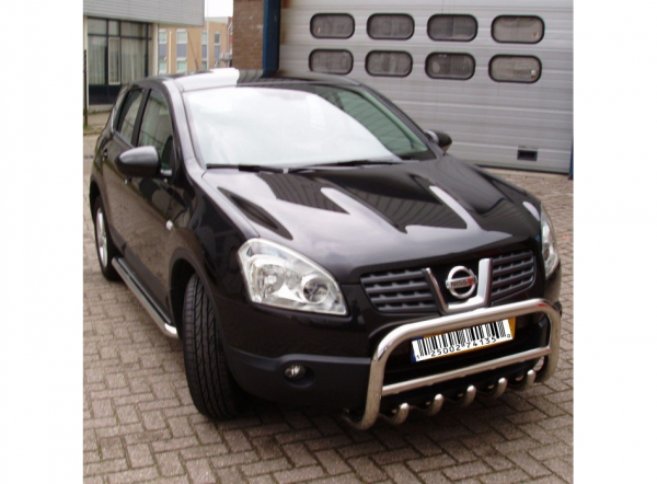 BullBar inox Nissan Qashqai 2007-2012 0