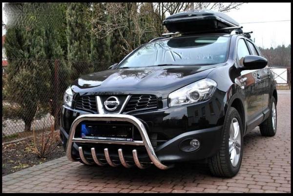 BullBar inox Nissan Qashqai 2012-2016 0