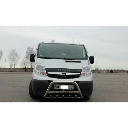 BullBar inox Opel Vivaro 2001-2014 0