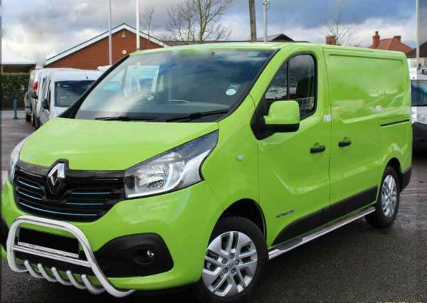 BullBar inox Opel Vivaro 2015 - 1