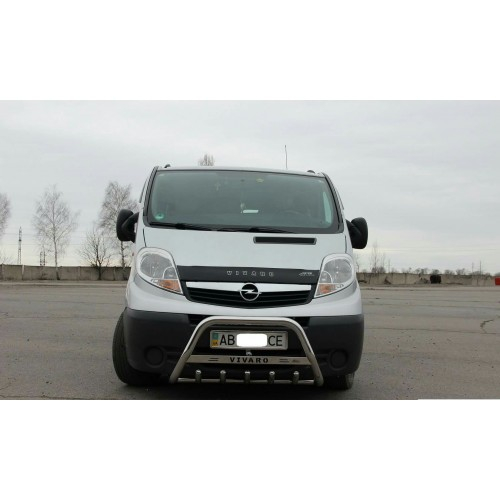 Bullbar inox Renault Trafic 2002-2014 0