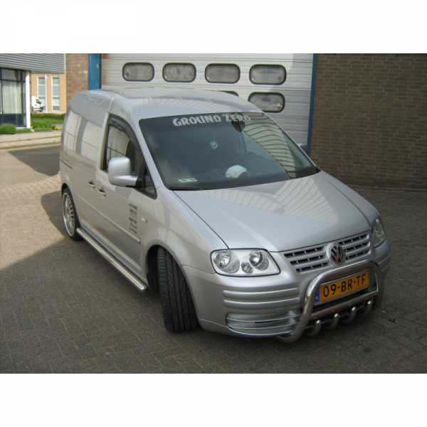 BullBar inox Volkswagen Caddy 2003-2009 [1]