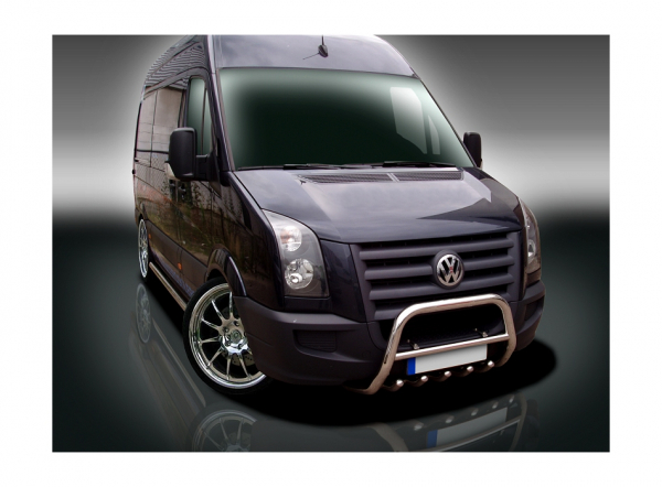 BullBar inox Volkswagen Crafter 2012-2016 0