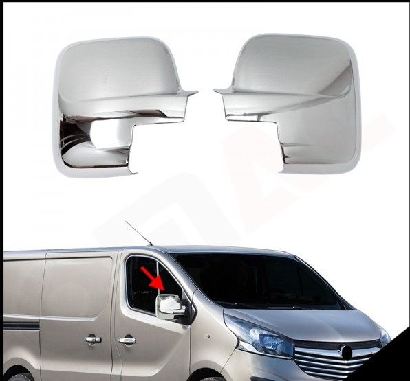 Capace Cromate Opel Vivaro 2015- 0