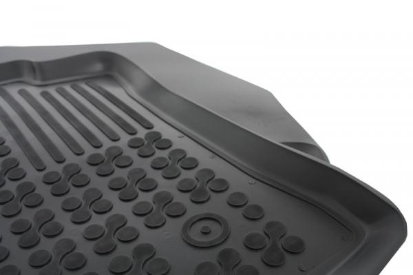 Covorase Presuri Auto Negru din Cauciuc compatibil cu DACIA Dokker Van2012- 0