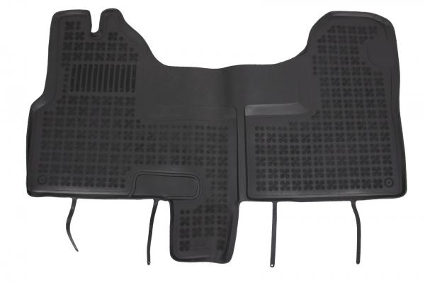 Covorase Presuri Auto Negru din Cauciuc compatibil cu IVECO DAILY IV V (2006-2014) 0