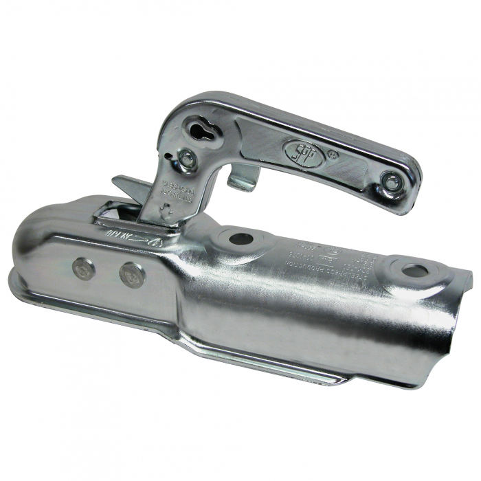 Cupla remorca 70mm 750kg pentru ax rotund Carpoint [0]