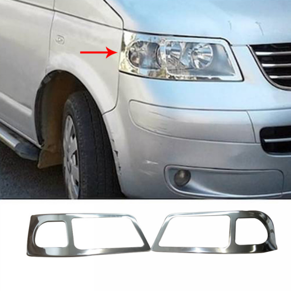 DECOR FARURI INOX VW T5 2003-2010 1