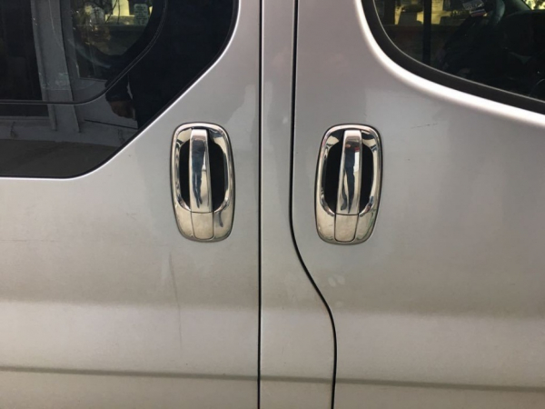 Decor manere inox Opel Vivaro 2001 - 2014 0