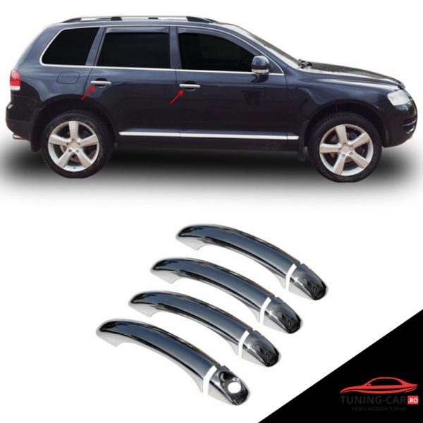 Decor Manere Inox Vw Touareg 2010- 2