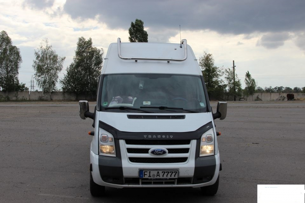 Deflector Capota Ford Transit 2006-2013 [0]