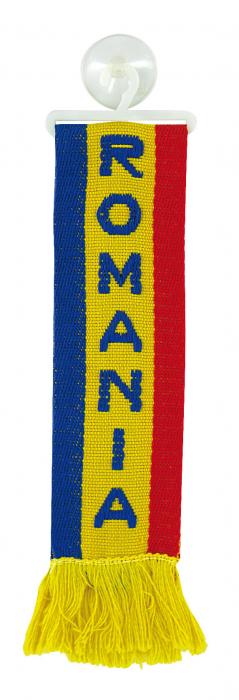 Fanion mic cu ventuza - Romania [0]