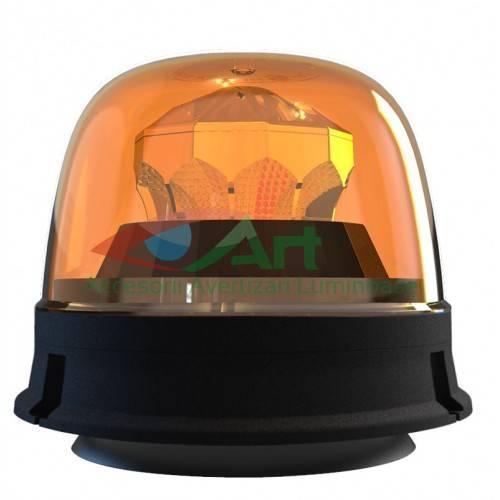Girofar LED galben FI144 Diamant magnetic/fix 1