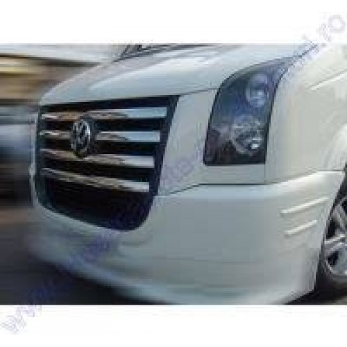 Grila inox vw Crafter 2007 - 2013 0