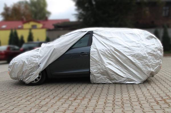 Prelata auto - mărimea XL argintiu 1