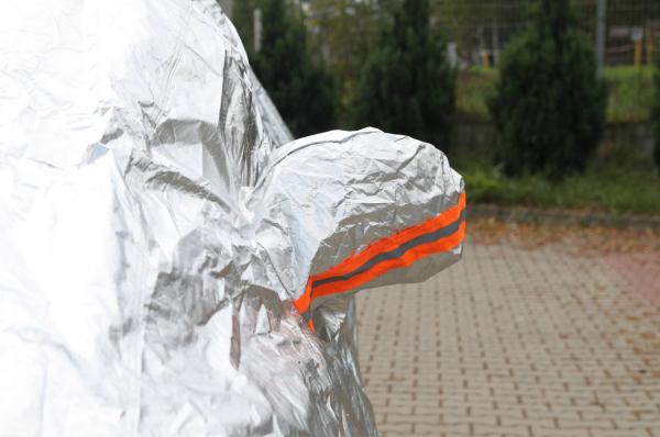 Prelata auto - mărimea M argintiu 2