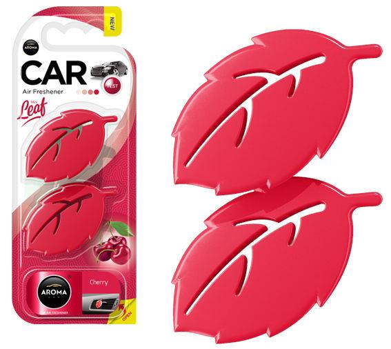 Odorizant auto AROMA CAR LEAF 3D - CHERRY 0