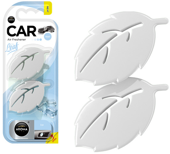 Odorizant AROMA CAR LEAF 3D ambientator - ICE 0