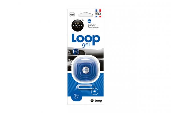 Odorizant de aer AROMA CAR LOOP - Mașină nouă 0