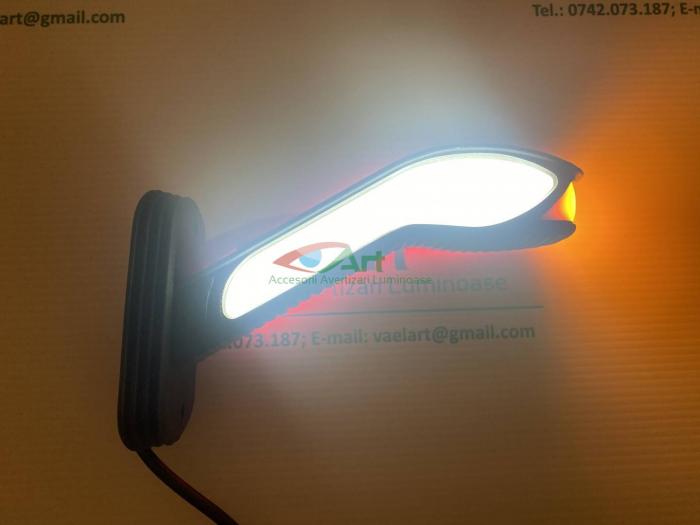 Lampa gabarit cu neon si semnal dinamic V202008 dreapta 4