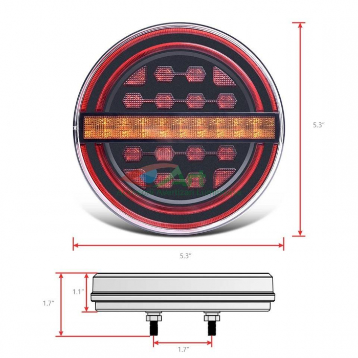 Lampa stop LED semnal dinamic fi139 V1909 [5]