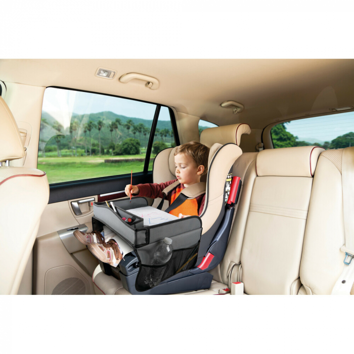 Masuta scaun auto copil pentru calatorie Snack & Play Lampa - Gri [1]
