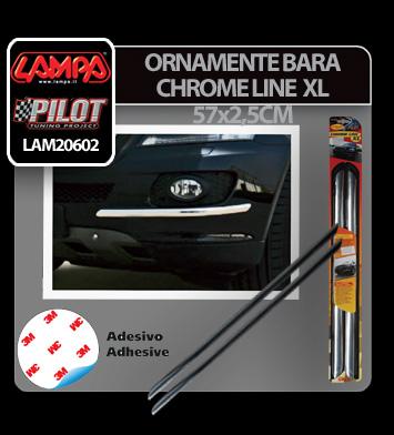 Ornamente bara protectie Chrome Line XL 2buc [4]