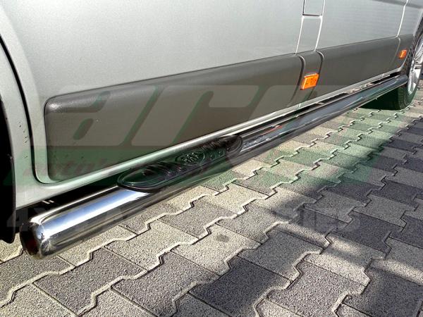 Praguri laterale inox Opel Vivaro 2001 - 2014 1