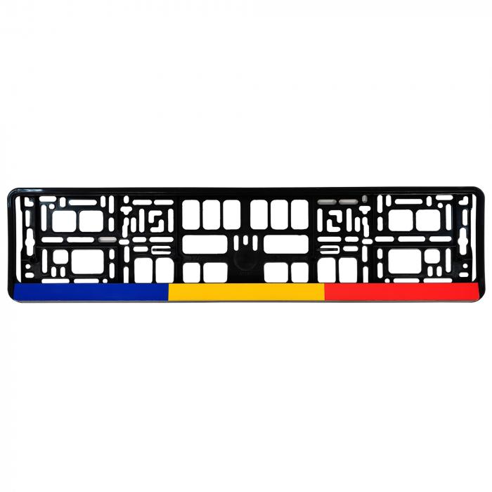Suporti numar inmatriculare set 2buc - Romania [1]