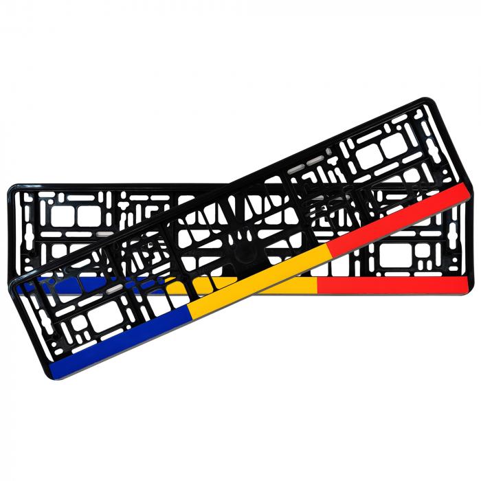Suporti numar inmatriculare set 2buc - Romania [0]