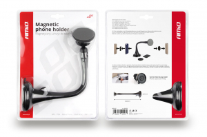 Suport magnetic pentru telefon cu ventuză HOLD-7 lungă1