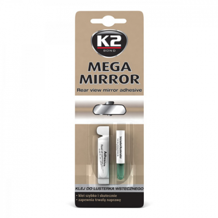 Adeziv pentru lipit oglinda retrovizoare Mega Mirror K2 0,6ml