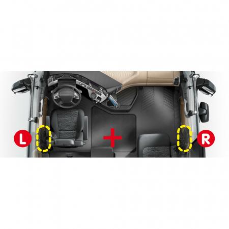 Blocatoare usi din interior camion - Man TGA (03/99>05/10), TGS, TGX (09/07>08/14) [4]
