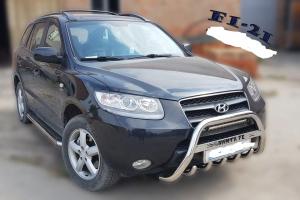 Bullbar inox Hyundai Santa Fe 2007 - 20130