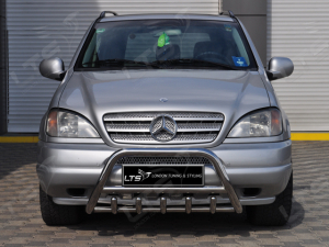 BullBar inox Mercedes ML 2006-20110