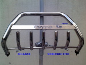 Bullbar inox Mercedes Vito 1996 - 20091