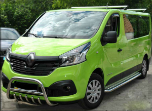BullBar inox Renault Trafic 2015- [1]