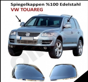 Capace oglinzi inox Vw Touareg 2007-20100