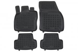 Covorase Presuri Auto Negru din Cauciuc compatibil cu VW T-ROC (2017-Up)