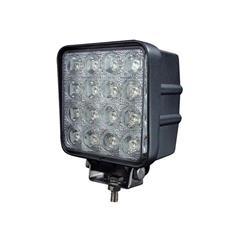 Lampa de lucru 16x LED pătrat 12 / 24V0